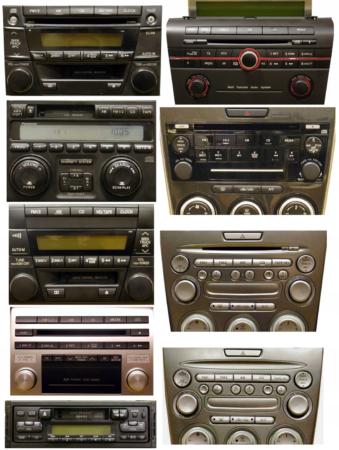 mazda radio